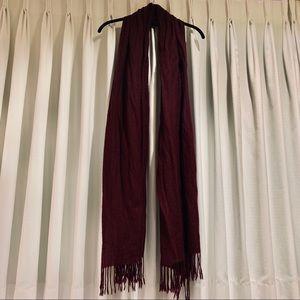 forever 21 tassel trim oblong scarf